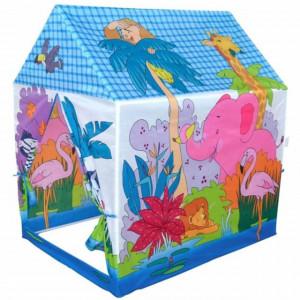 Spatiu de joaca cort pentru copii, model jungla, utilizare interior/ exterior, Pufo