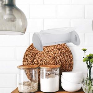 Suport de perete pentru rola de bucatarie sau in baie, 30 cm