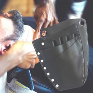 Borseta universala pentru ustensile frizerie, stilist, coafor, cosmetica, negru
