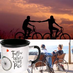 Cana pentru cafea sau ceai Follow your path, 330 ml