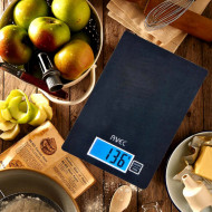 Cantar digital de bucatarie, capacitate maxima 5 kg, negru