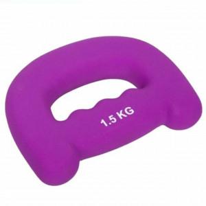 Gantera pentru exercitii fizice, tonifiere, fitness, 1,5 kg