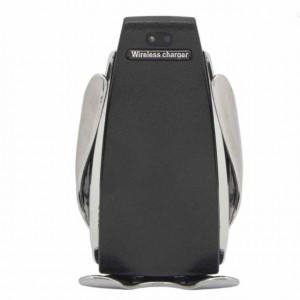 Incarcator telefon auto wireless Pufo cu senzor inteligent, USB, functie Fast Charge