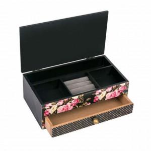 cutie bijuterii model floral