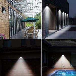 Proiector solar cu LED, senzor de miscare si senzor de lumina, Pufo