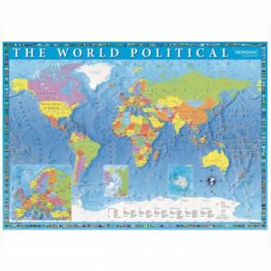 puzzle harta politica a lumii
