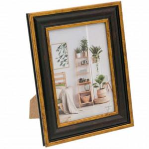 Rama foto decorativa Pufo Premium, 23 x 18 cm, maro
