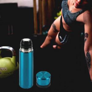 Sticla termos metalica Pufo pentru bauturi, izoterm, 500 ml