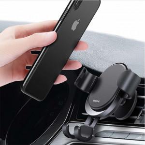 suport universal negru pentru telefon