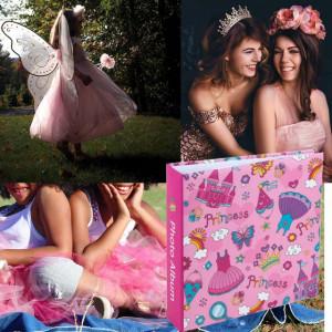 Album foto pentru copii, model Little Princess, 22 x 22,5 cm, Pufo