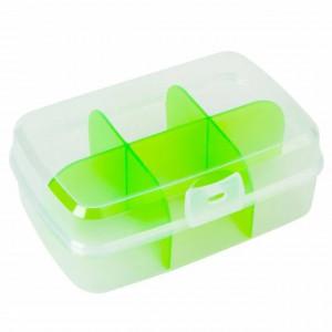 Cutie cu 6 compartimente pentru depozitarea plicurilor de ceai, mirodenii, 20 x 13 cm