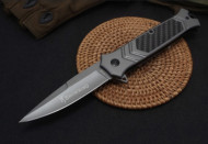 Cutit briceag tactic Browning 22,5 cm , model Black Mosaic Print cu sistem de blocare lama