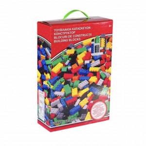 Joc piese de construit pentru copii, 800 piese, Pufo