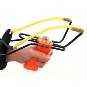 Pachet Prastie reglabila cu suport antebrat, latex + Patent multifunctional pentru camping de 18 cm cu set de surubelnita