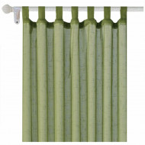 Perdea Pufo Green, 140 x 250 cm, verde