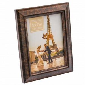 Rama foto decorativa Pufo Gallant, 18 x 23 cm, maro