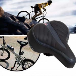Sa confortabila pentru bicicleta cu arcuri, negru, universala, Pufo
