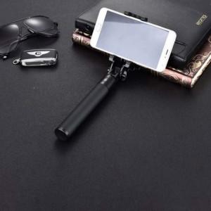 Set selfie stick cu cablu si accesorii, Premium, Pufo