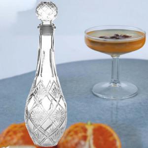 Sticla inalta pentru lichior Pufo , 850 ml, alba