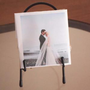 suport metalic fotografii