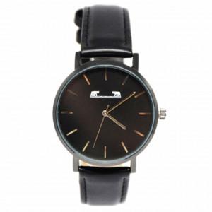 Ceas elegant slim MATTEO FERARI, design italian, mecanism japonez, negru + cutie