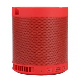 Boxa portabila Bluetooth Wireless, USB, TF Card, port auxiliar si suport pentru telefonul mobil, rosu
