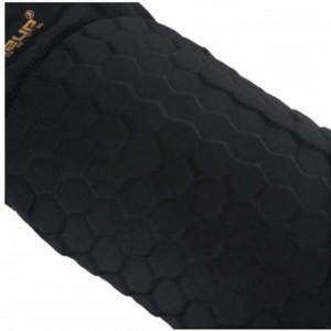 Genunchiera elastica cu protectie, marime M, negru