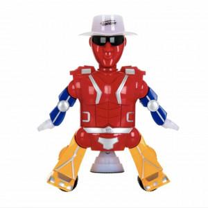 Jucarie interactiva pentru copii Robotul Michael care danseaza si canta, Pufo