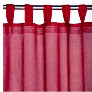 Perdea Pufo Red, 140 x 250 cm, rosu