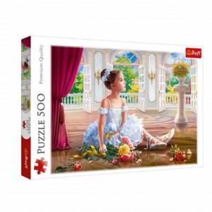 Puzzle modern Mica balerina 500 piese, model Premium