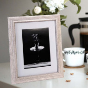 Rama foto decorativa Pufo Grey, 30 x 25 cm