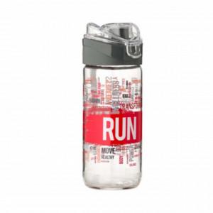 Recipient sport din sticla pentru apa, 500 ml