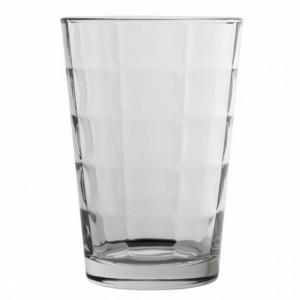 Set 6 pahare din sticla Pufo Mosaic, 380 ml