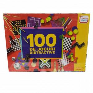 Set jocuri educationale si distractive 100 in 1 pentru copii