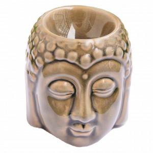 Vas din ceramica pentru aromaterapie Pufo, model Buddha