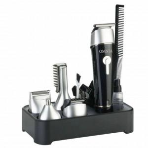 Aparat lavabil reincarcabil cu set de ingrijire pentru barbierit si tuns Omnia 5 in 1