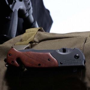 Cutit briceag Browning Elite 22.5 cm cu sistem taiat centura si cui pentru spart geamuri