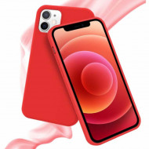 husa iphone 12 rosu
