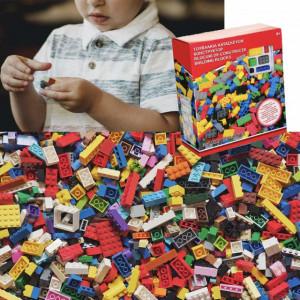 Joc piese de construit pentru copii, 350 piese, Pufo