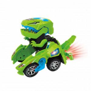 Jucarie interactiva transformabila DinoPufo, cu sunete si lumini