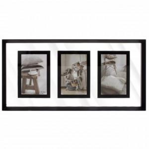 Rama foto decorativa Pufo Simple, 3 poze, 50 x 24 cm