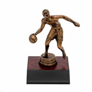 Statueta premiu in forma de baschetbalist, 14 cm
