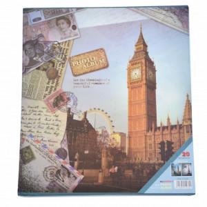 Album foto, 20 file, model Londra, 31 x 27 cm