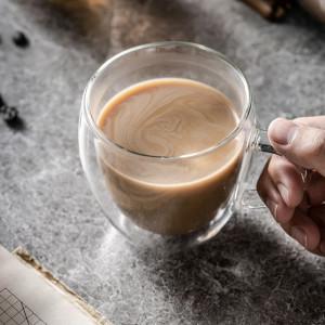 cana cu pereti dubli pentru cafea