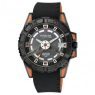 Ceas barbatesc Q&Q Attractive Orange & Black - DA52J522Y
