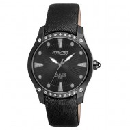 Ceas de dama Q&Q Urbanity Simple Black - DA27J502Y