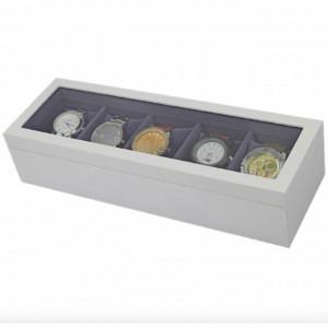 cutie caseta ceasuri cu geam