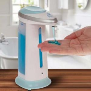 Dozator cu senzor de miscare pentru sapun llichid sau dezinfectant, Pufo