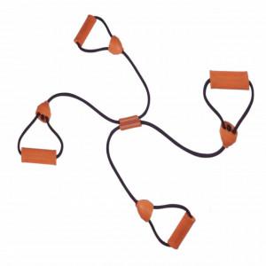 Extensor Pufo cu 4 manere pentru exercitii fitness sau aerobic, 70 cm