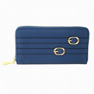 Portofel elegant de dama, albastru regal
